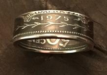 double sided coin ring small