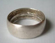 old coin ring