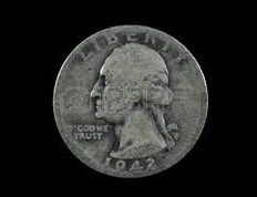 Worn US Quarter